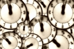 Image of clock faces